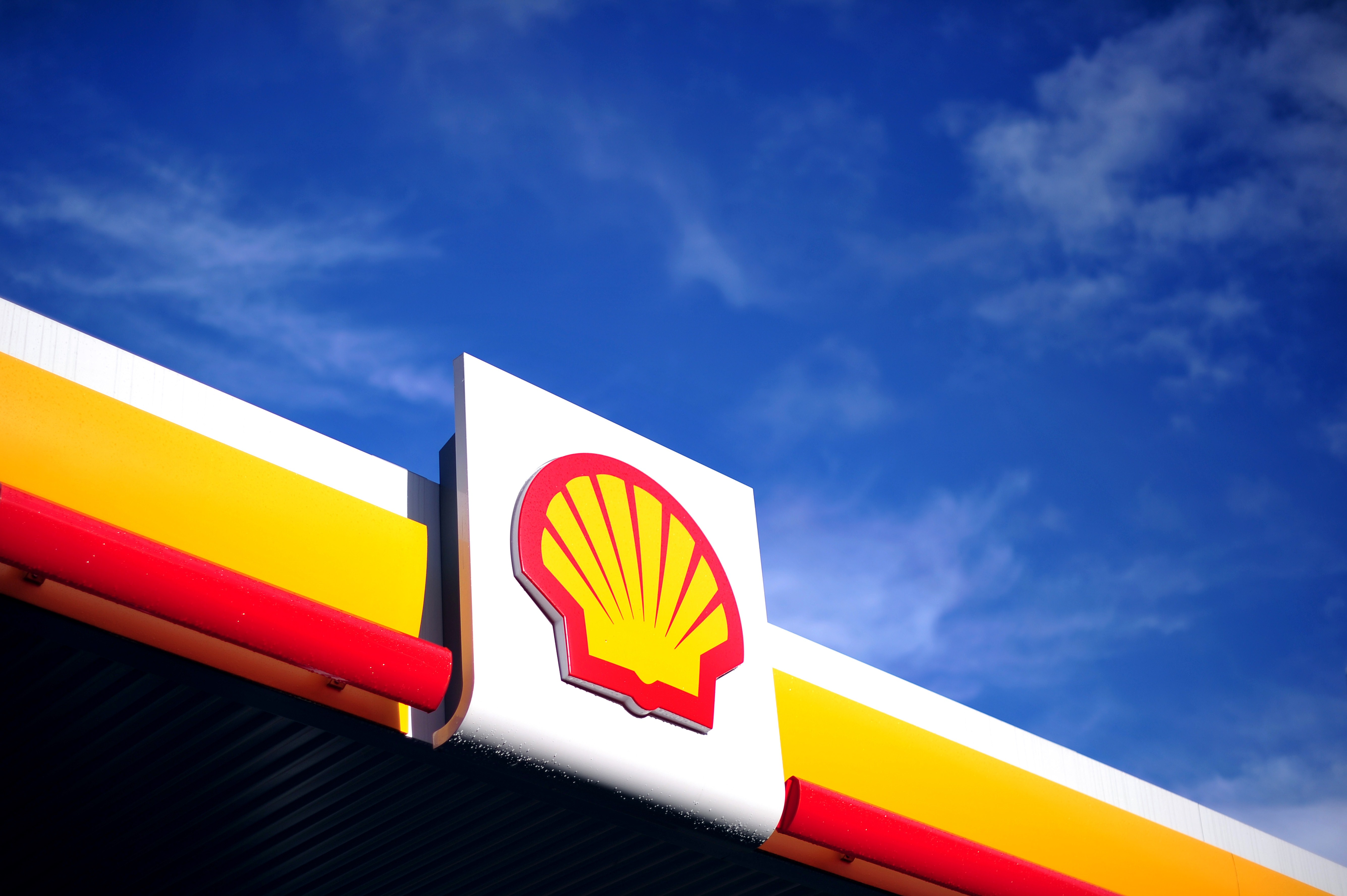 Shell benzinestation